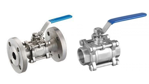 Three Piece design Ball Valves manufacturers
