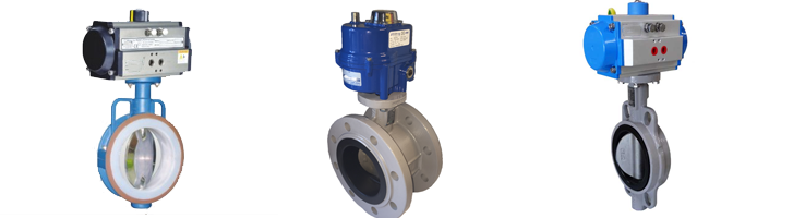 Electric Pneumatic Butterfly Valves manufacturers